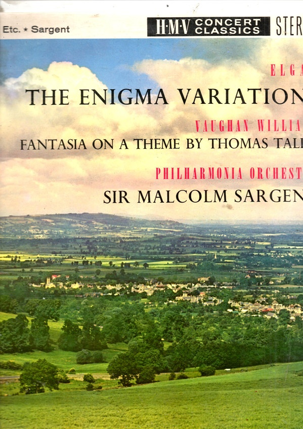 Sir Edward Elgar The Enigma Variations Fantasia On A Theme By Thomas Tallis 1959 Sounds Of The Universe