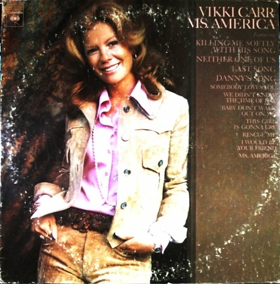 Vikki Carr Ms. America
