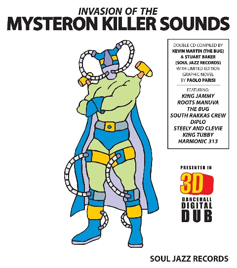 Invasion Of The Mysteron Killer Sounds in 3-D | Soul Jazz Records