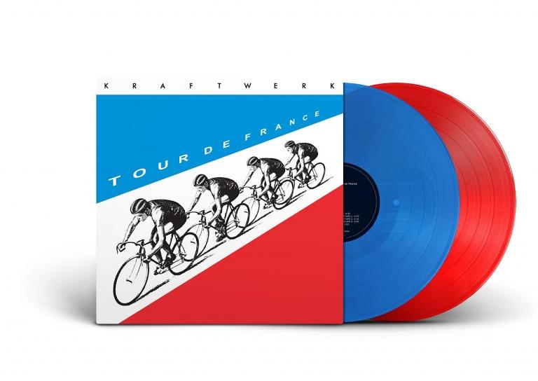 Kraftwerk Tour De France Limited Coloured Vinyl Edition Sounds Of The Universe