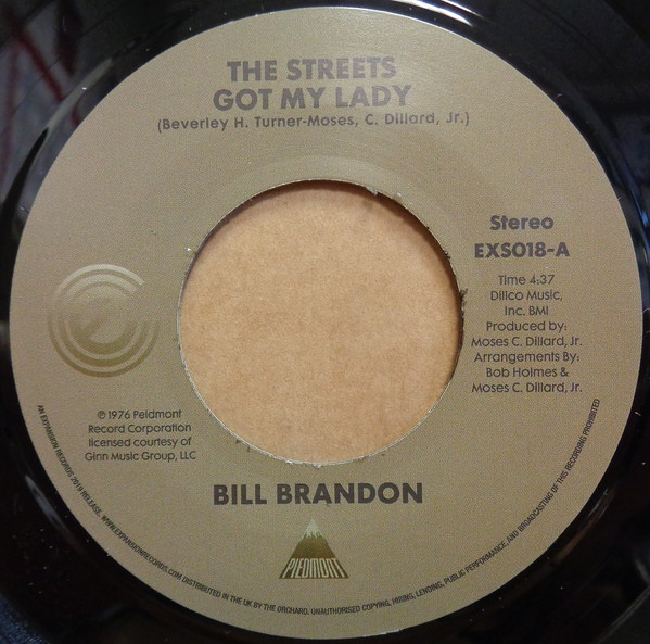 Bill Brandon – The Streets Got My Lady | Soul Jazz Records