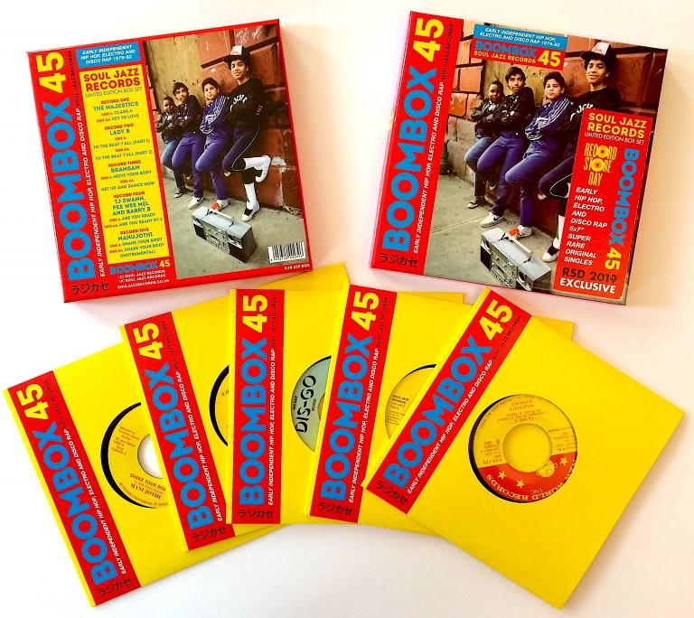 Soul Jazz Records presents Boombox 45 Box Set: Early