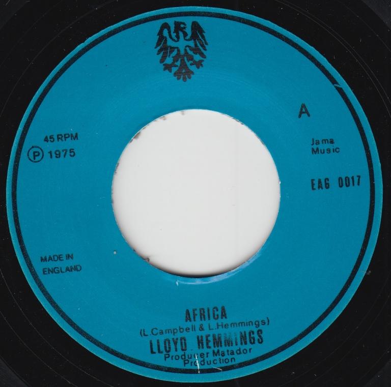 Lloyd Hemmings – Africa / African Dub | Soul Jazz Records