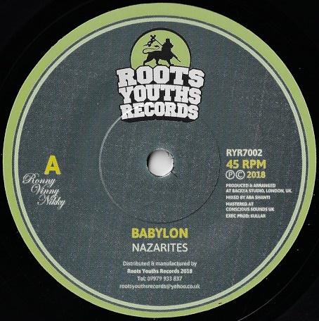 The Nazarites – Babylon   Soul Jazz Records
