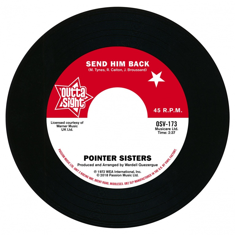 Pointer Sisters / The Drifters – Send Him Back / You Got To