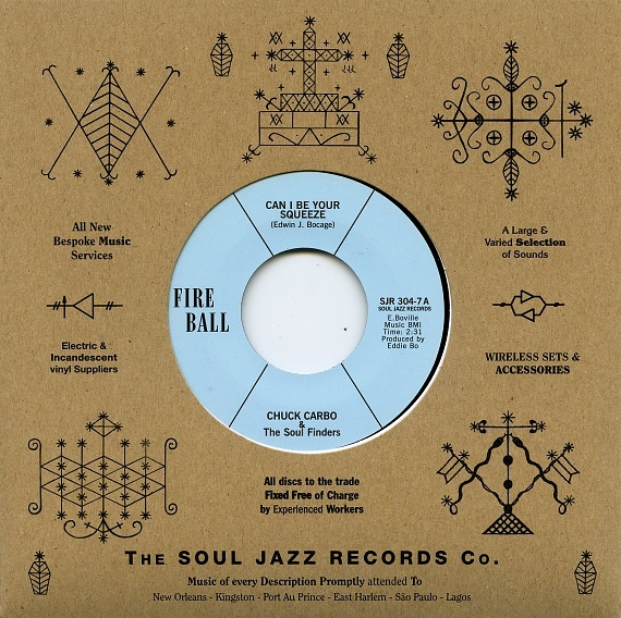 Chuck Carbo & The Soul Finders – Can I Be Your Squeeze