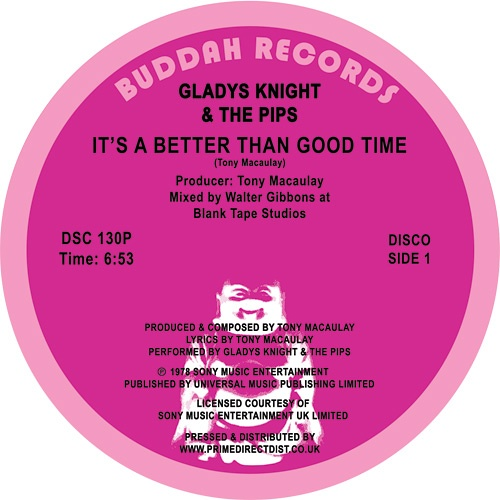 Gladys Knight And The Pips – It's A Better Than Good Time / Saved By