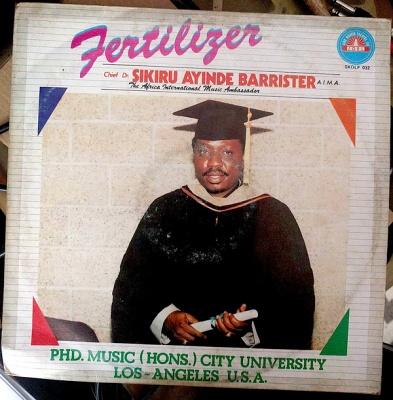 Chief Dr  Sikiru Ayinde Barrister – Ile Aye Ogun (1987