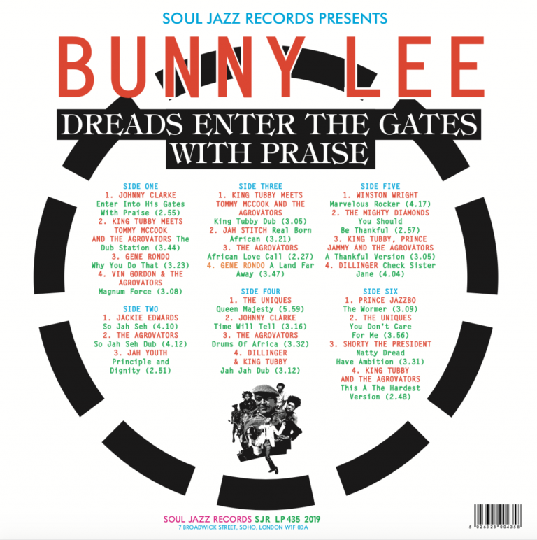 Soul Jazz Records Presents Bunny Lee: Dreads Enter The Gates