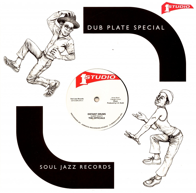 STUDIO ONE DUBPLATE#2 – The Officials - Distant Drums | Soul Jazz