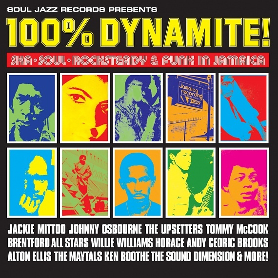 100% Dynamite (New Edition) | Soul Jazz Records
