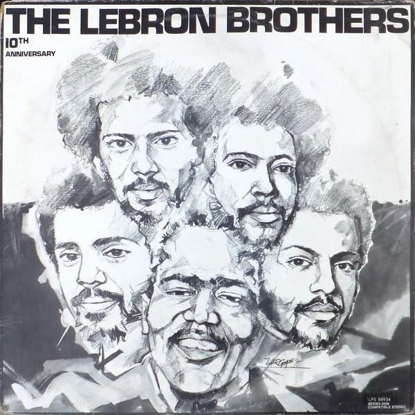 d10de182b9c5 Lebron Brothers 10th Anniversary. Cotique · Latin. Original LP LPS -88.934£6.99