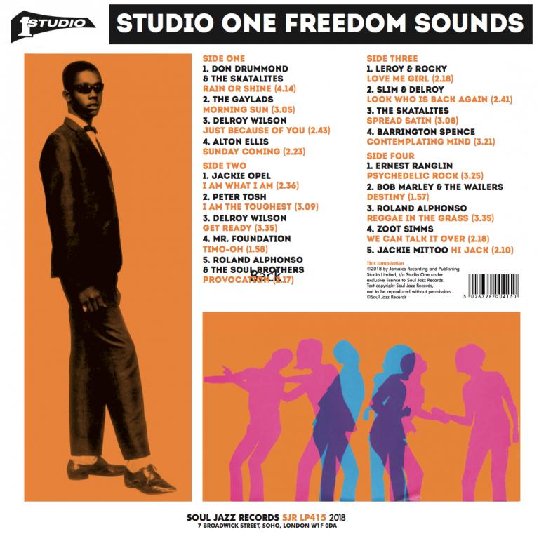 Studio One Freedom Sounds | Soul Jazz Records