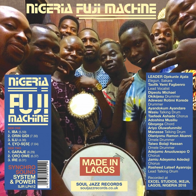 Soul Jazz Records presents Nigeria Fuji Machine – Synchro