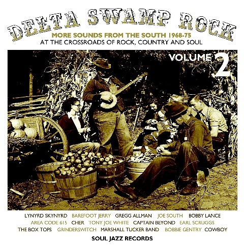 Delta Swamp Rock Volume 2 – More Sounds From The South 1968