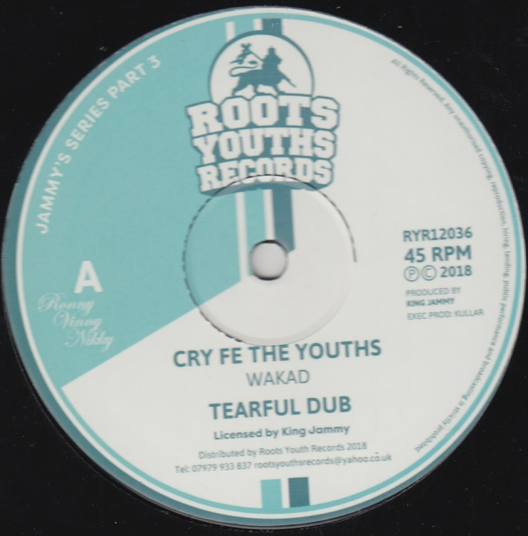 Wakad – Cry Fe The Youths | Soul Jazz Records