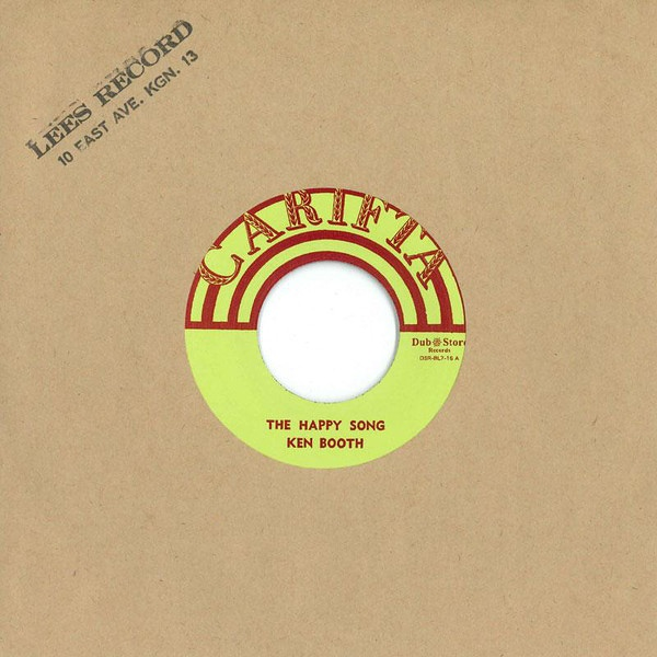Ken Boothe – The Happy Song / What You Gonna Do | Sounds of the Universe