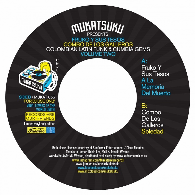 Colombian Latin Funk & Cumbia Gems Volume Two | Soul Jazz