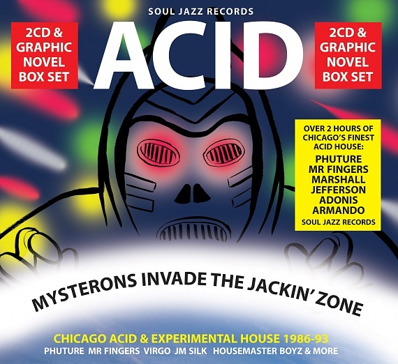 Acid - Mysterons Invade The Jackin' Zone | Soul Jazz Records
