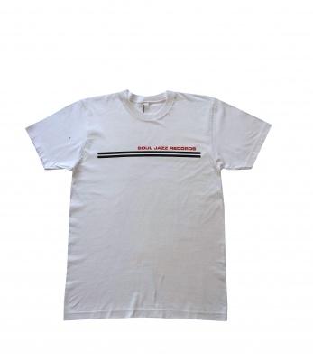 9d093fdfd77 Soul Jazz Records 'Classic' WhiteT-shirtSoul Jazz Records.