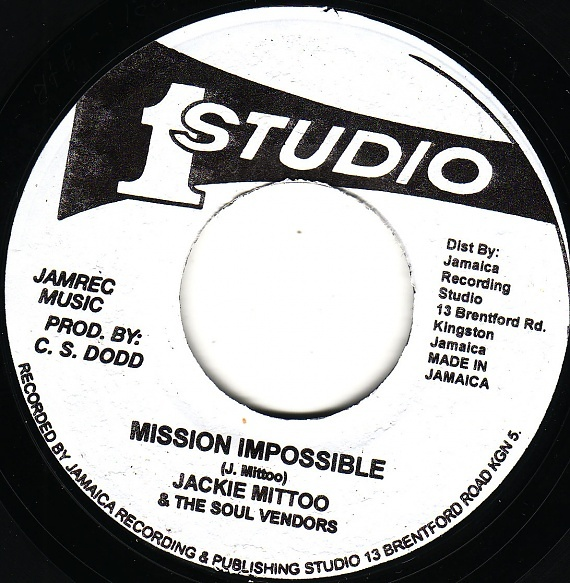 Jackie Mittoo Actions Mission Impossible Giddy Up