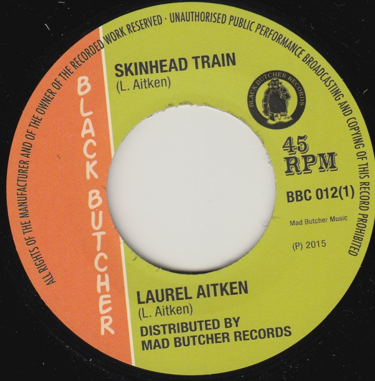 Laurel Aitken The Gruvy Beats Skinhead Train Kent People