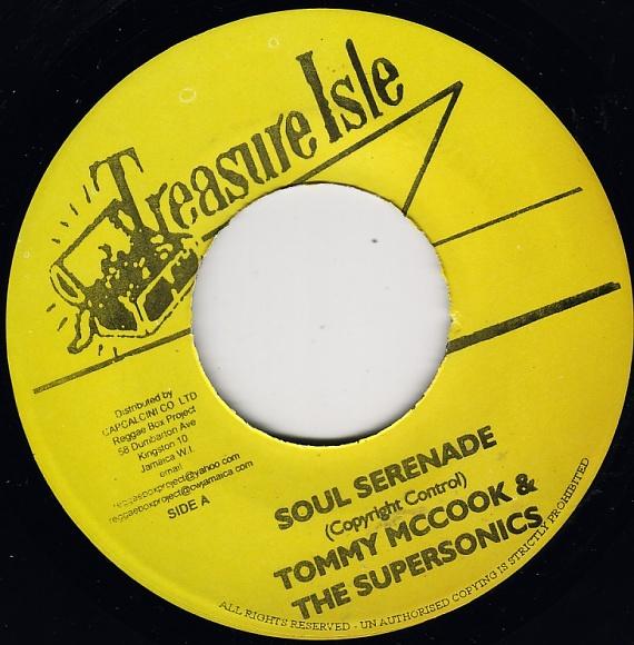 Tommy McCook Supersonics Greater Jamaica Moonwalk Reggae