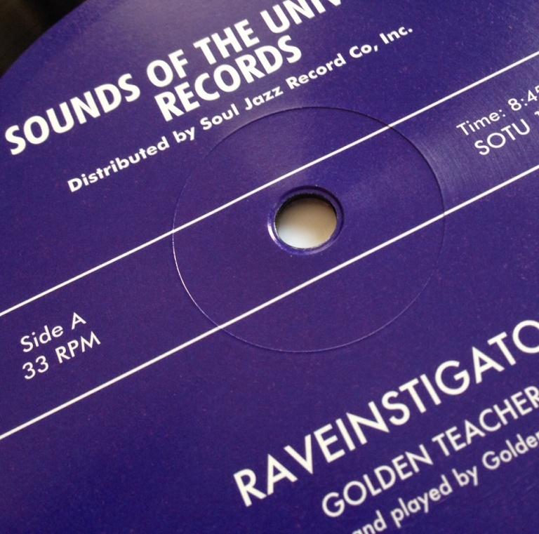 Golden Teacher – Divine / Raveinstigator | Soul Jazz Records