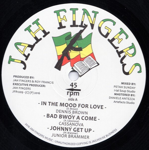 Dennis Brown – In The Mood For Love / Bad Boy A Come