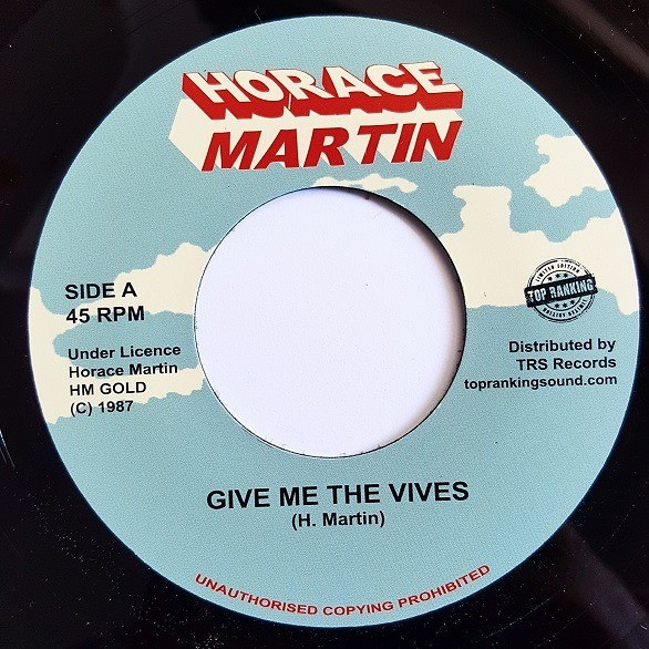 Horace Martin Suzie Give Me The Vives