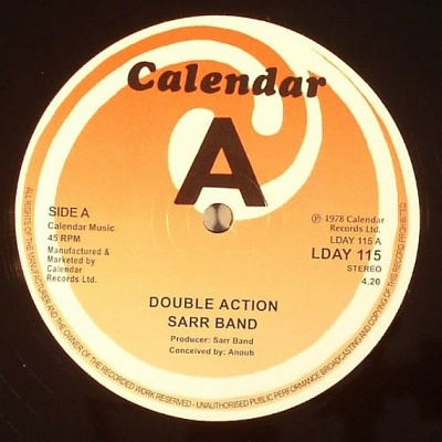 Sarr Band Double Action Soul Tango