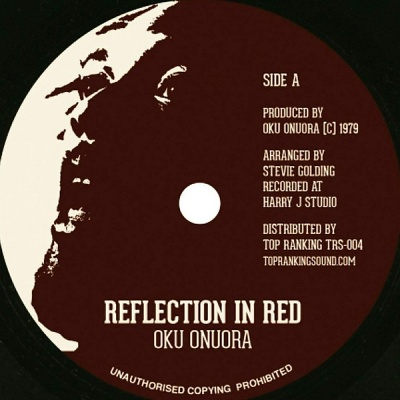 Oku Onuora Reflection In Red