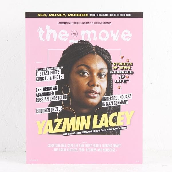 5e86b69ad32 The Move #5 - Yazmin Lacey | Soul Jazz Records