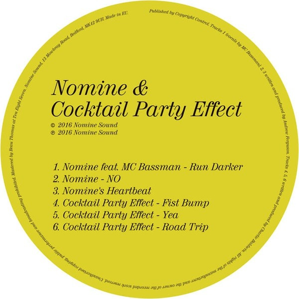 Nomine & Cocktail Party Effect – Fist Bump EP | Sounds of the Universe