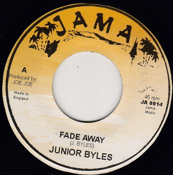 junior byles fade away