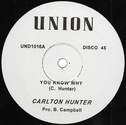 Carlton Hunter – You Know Why | Soul Jazz Records